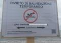 Pescara, divieto di balneazione causa pioggia