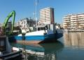 Pescara, mini dragaggio al porto canale