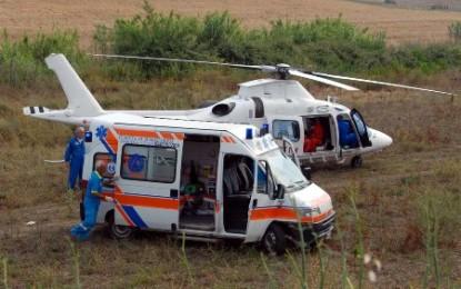 Incidente a Vasto: scontro tra auto e scooter, due feriti