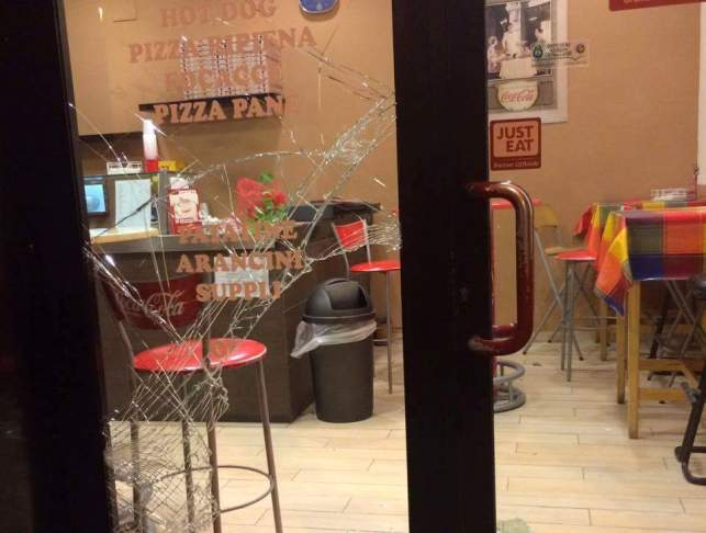 Pescara, furto con scasso in pizzeria