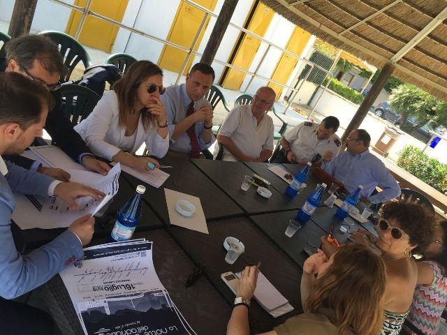 Pescara, Giunta riunita al mare per la riqualificazione delle riviere
