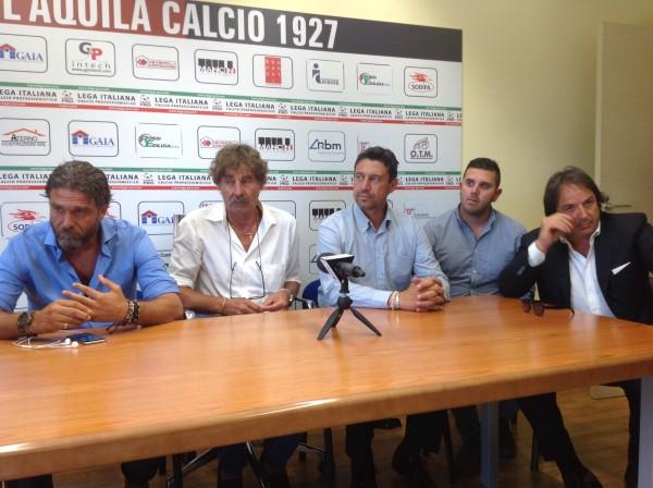 L'Aquila Calcio – Morgia si presenta