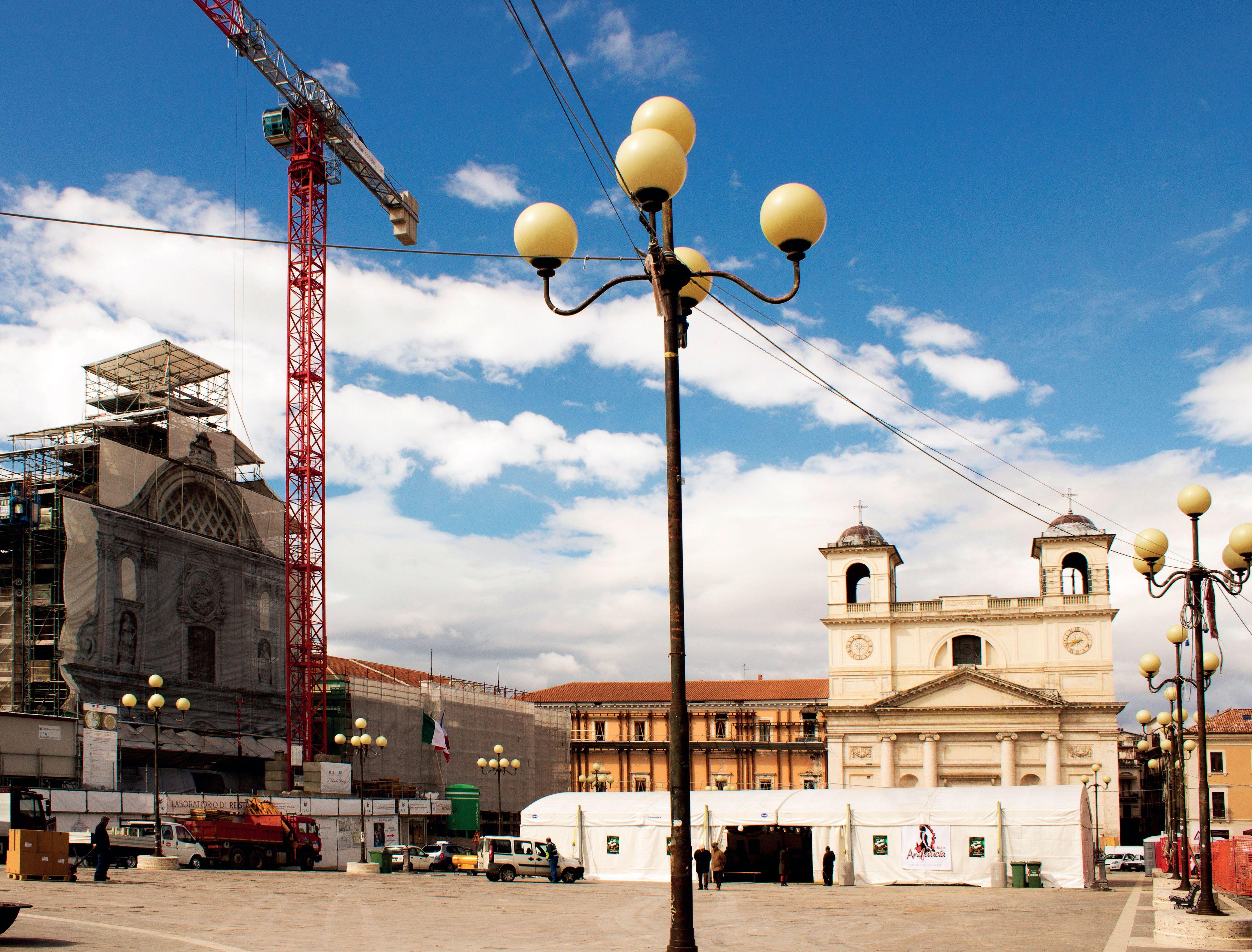 Sisma L'Aquila: ricostruzione sotto controllo
