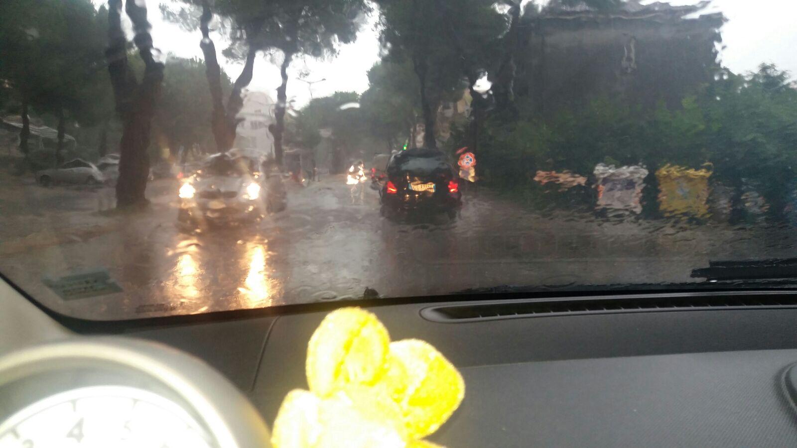 Maltempo Abruzzo: allagamenti e disagi sulla costa