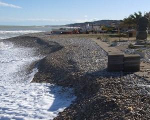 Maltempo: allarme erosione sulle spiagge abruzzesi