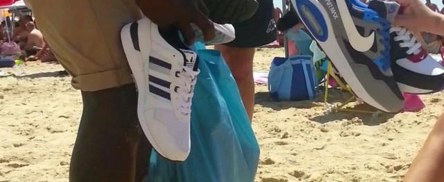 Vasto: sequestrata merce taroccata sulla spiaggia