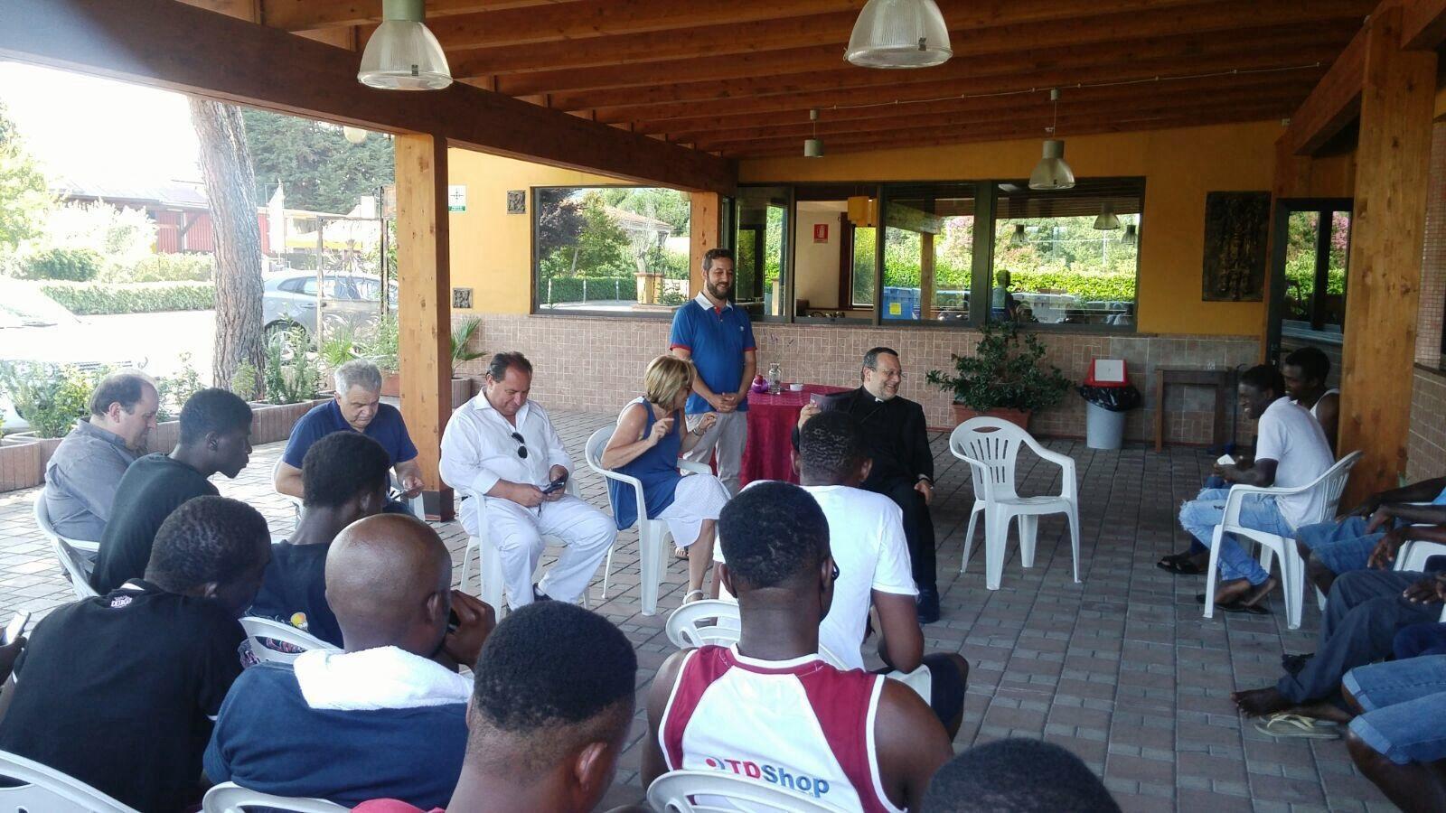 Profughi in Abruzzo: C'è chi non può e chi pensa agli Lsu