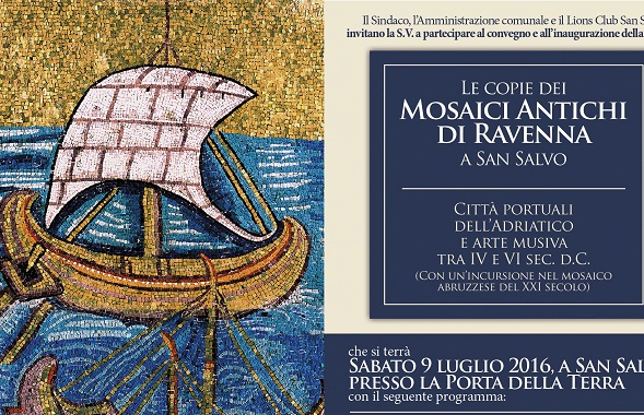 I mosaici di Ravenna in mostra a San Salvo