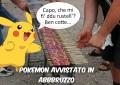 Pokémon Go… loso di arrosticini, ironia Web