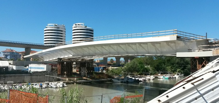 Pescara, Ponte Nuovo: immagini in anteprima (Video)