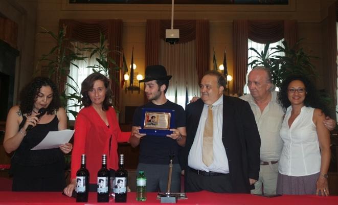 """Il premio """"Dean Martin"""" a Gianluca Ginoble de """"Il Volo"""""""