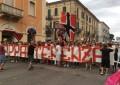 Lanciano: la protesta dei tifosi in piazza
