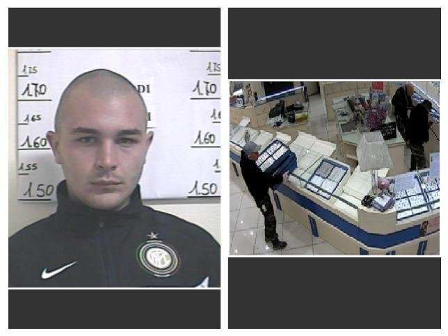 Rapina in gioielleria a Vasto, arrestato un pugliese