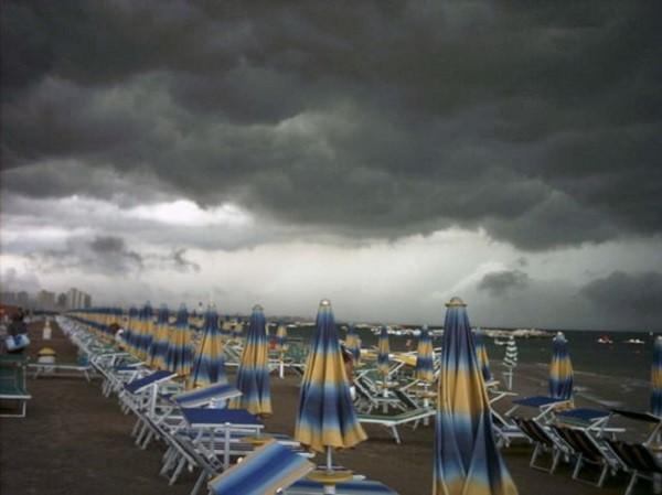 Protezione Civile: allerta temporali in Abruzzo