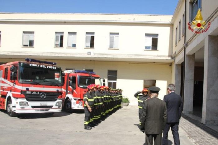 Pescara: Vigili del Fuoco, giura figlio del pompiere eroe