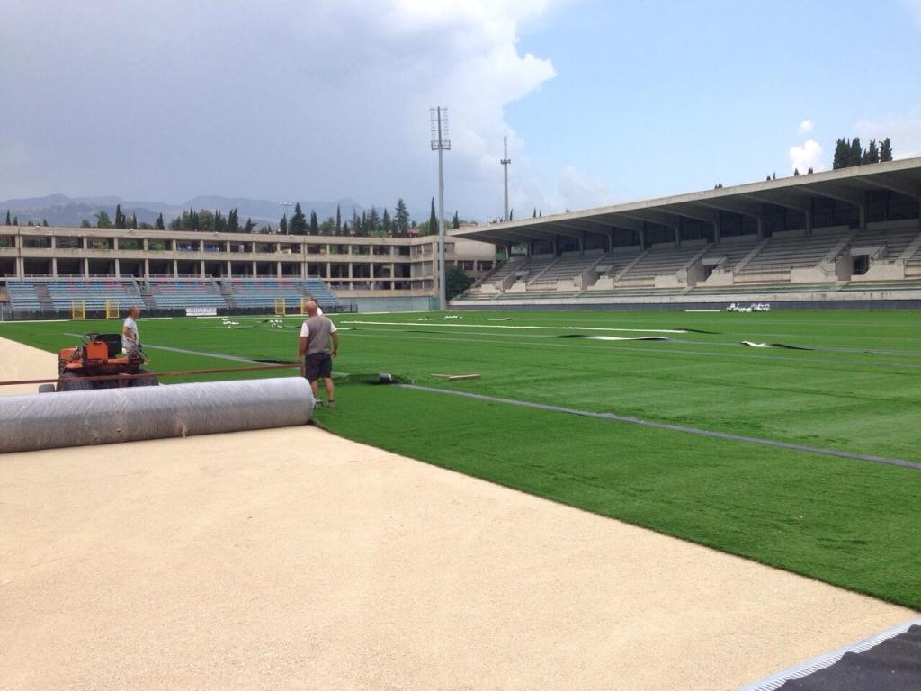 L'Aquila, stadio di Acquasanta agibile ai primi di settembre
