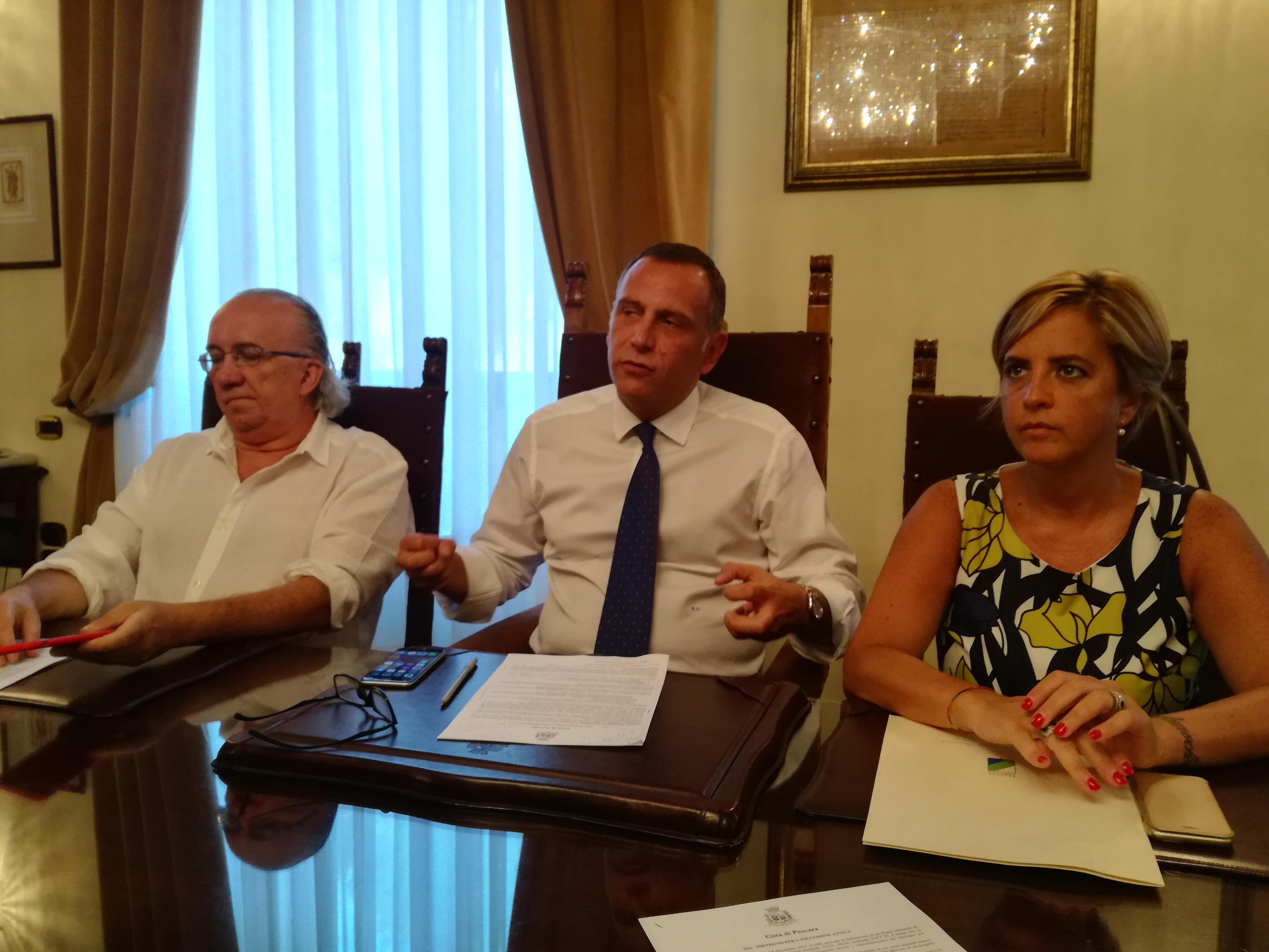 Pescara, un sostegno alle famiglie bisognose