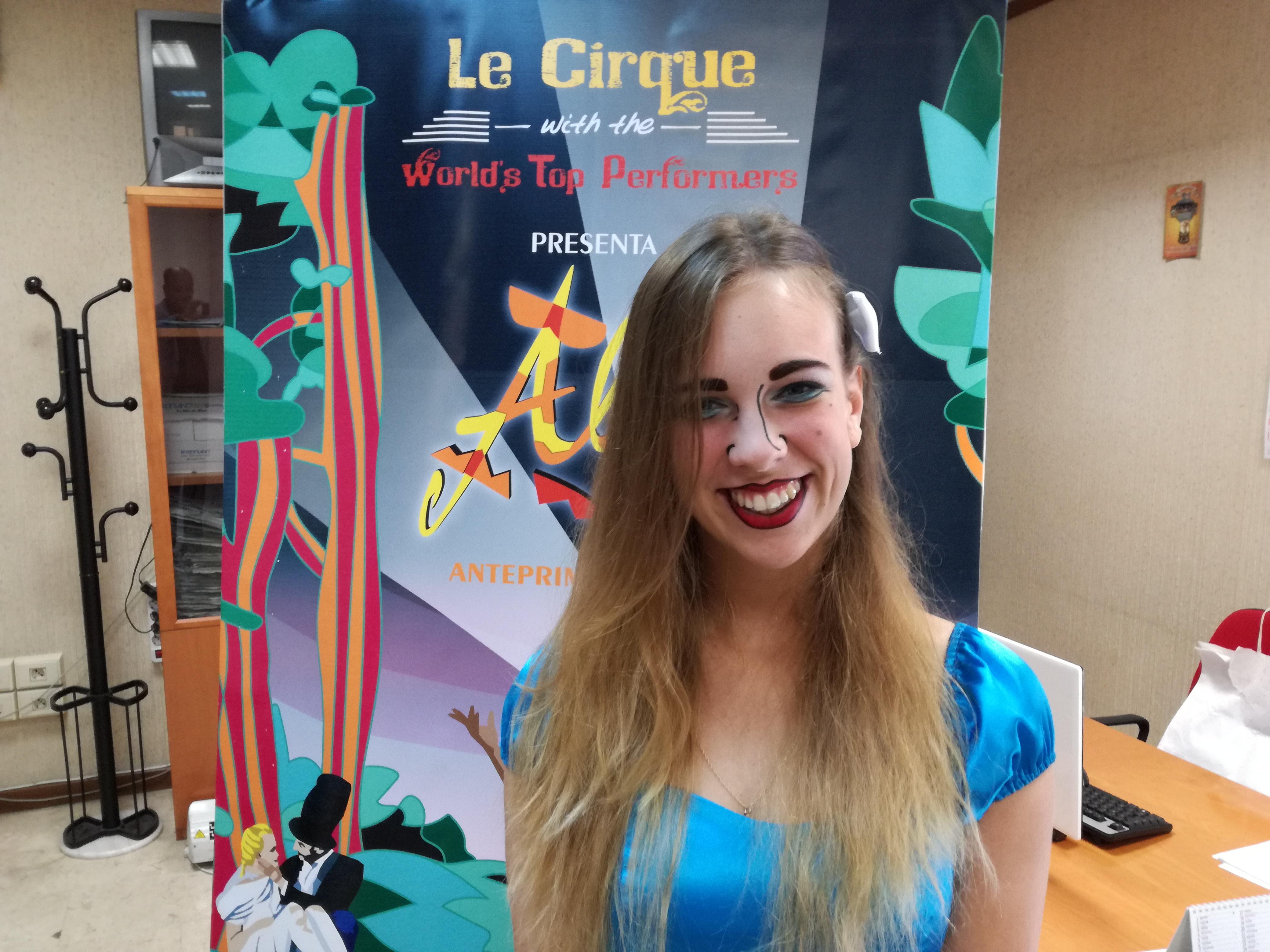 """A Chieti """"Alis"""" con gli artisti de Le Cirque"""