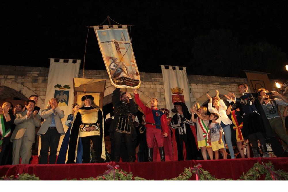 Giostra cavalleresca, settebello per il sestiere di Porta Manaresca