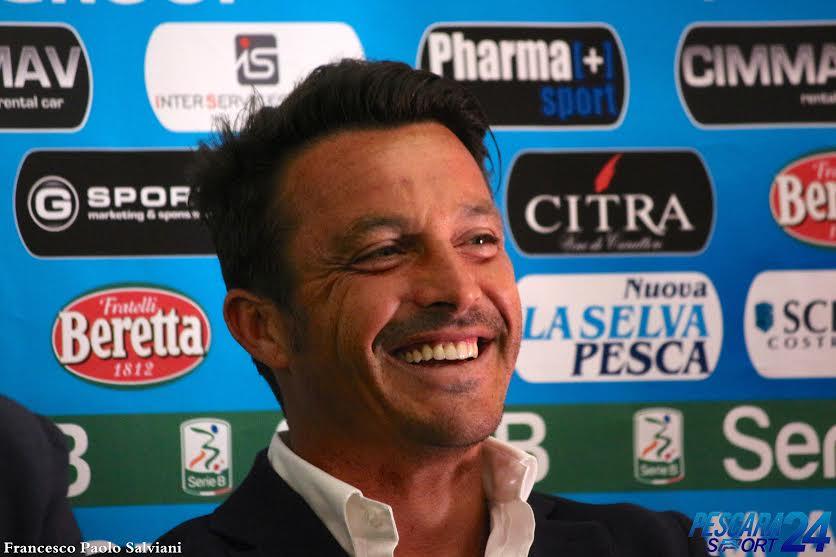 Pescara calcio. Pre Sassuolo. Parla Oddo