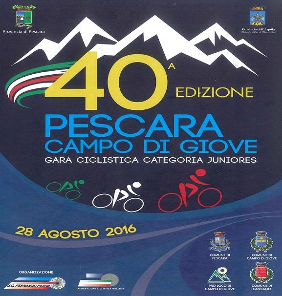 Ciclismo – Torna la Pescara Campo di Giove