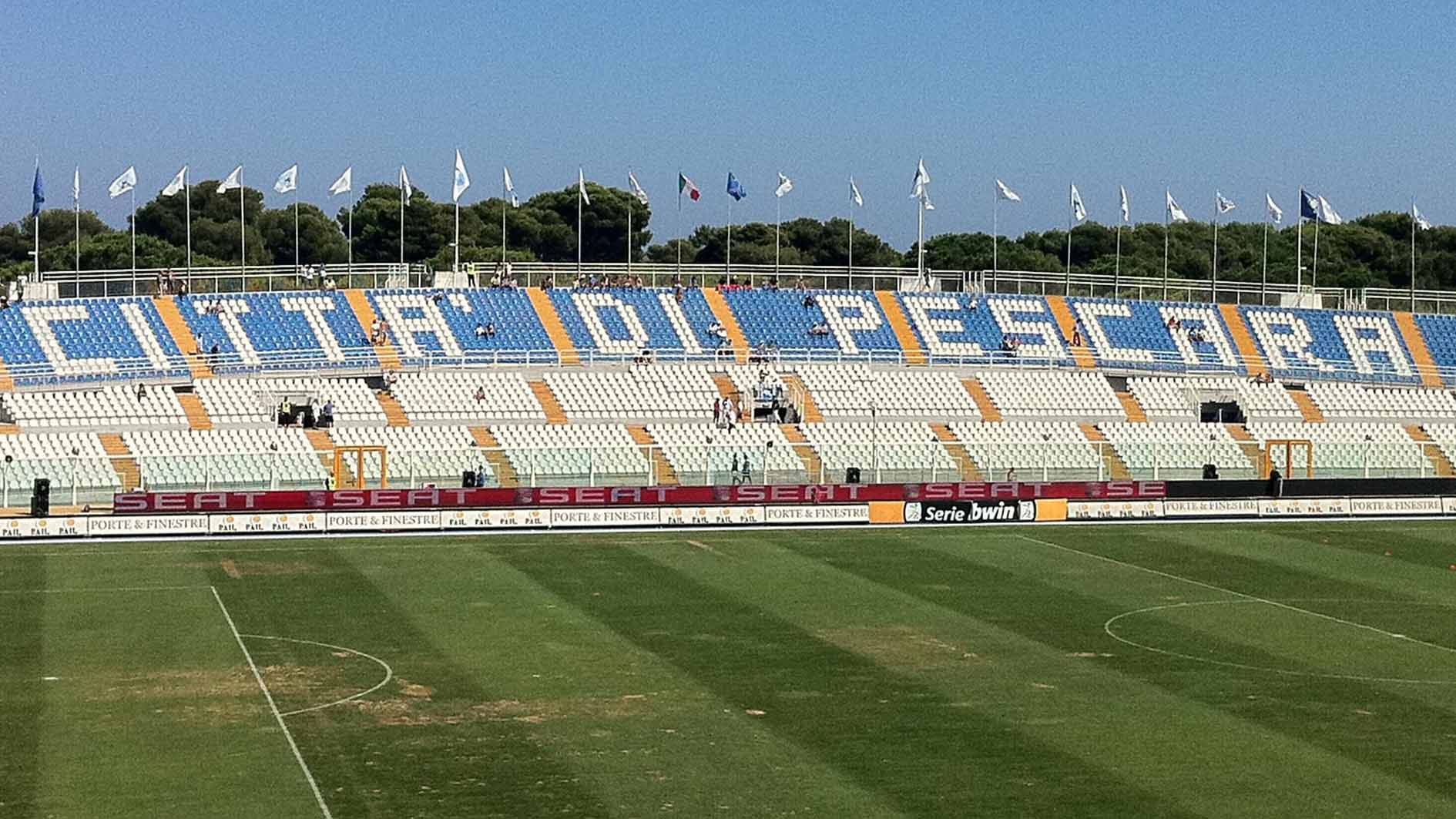 Stadio Adriatico, dopo l'esordio altro intervento