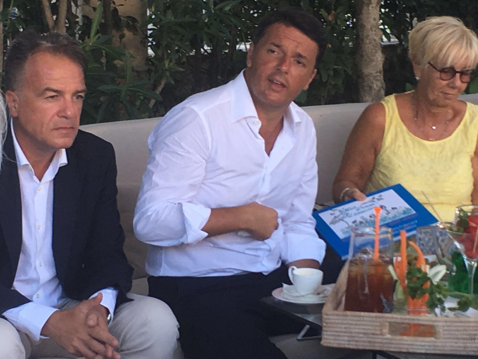 Renzi incontra i Balneatori della CNA