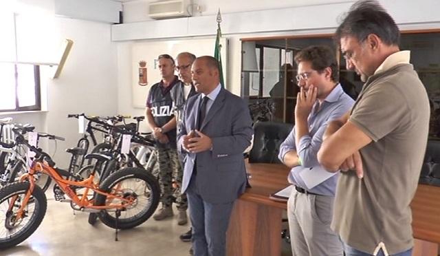 Alba Adriatica: bici rubate recuperate dal… fruttivendolo