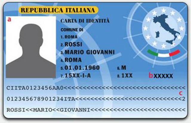Comune di Pescara, arrivano le nuove carte d'identità