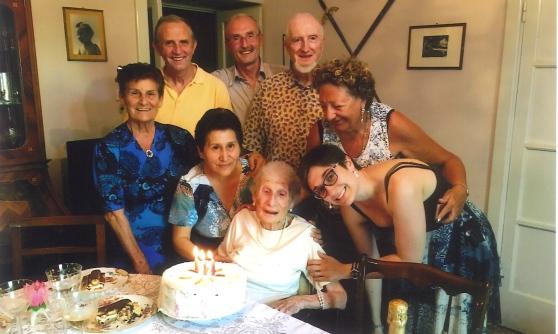 La donna più anziana d'Abruzzo vive a Pavia