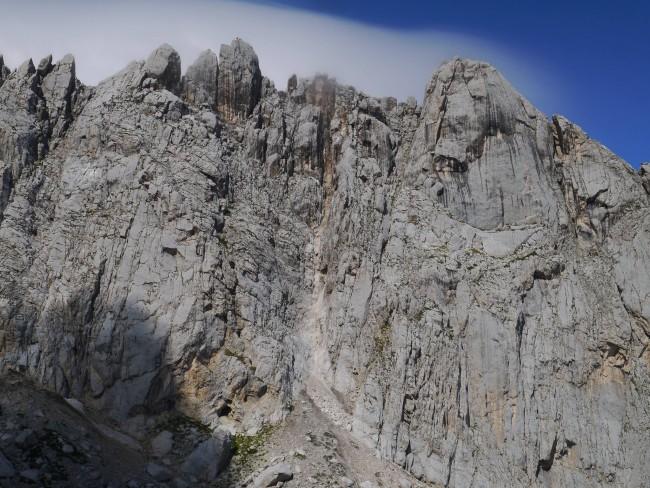 Terremoto Centro Italia: Solo una frana sul Corno Piccolo
