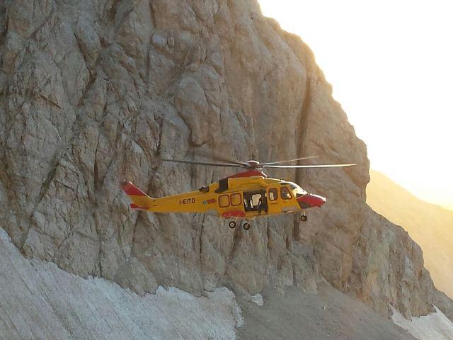Roccamorice, escursionista precipita in un dirupo