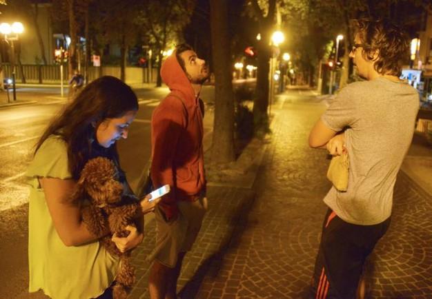 A Pescara e Chieti gente in strada per il Terremoto