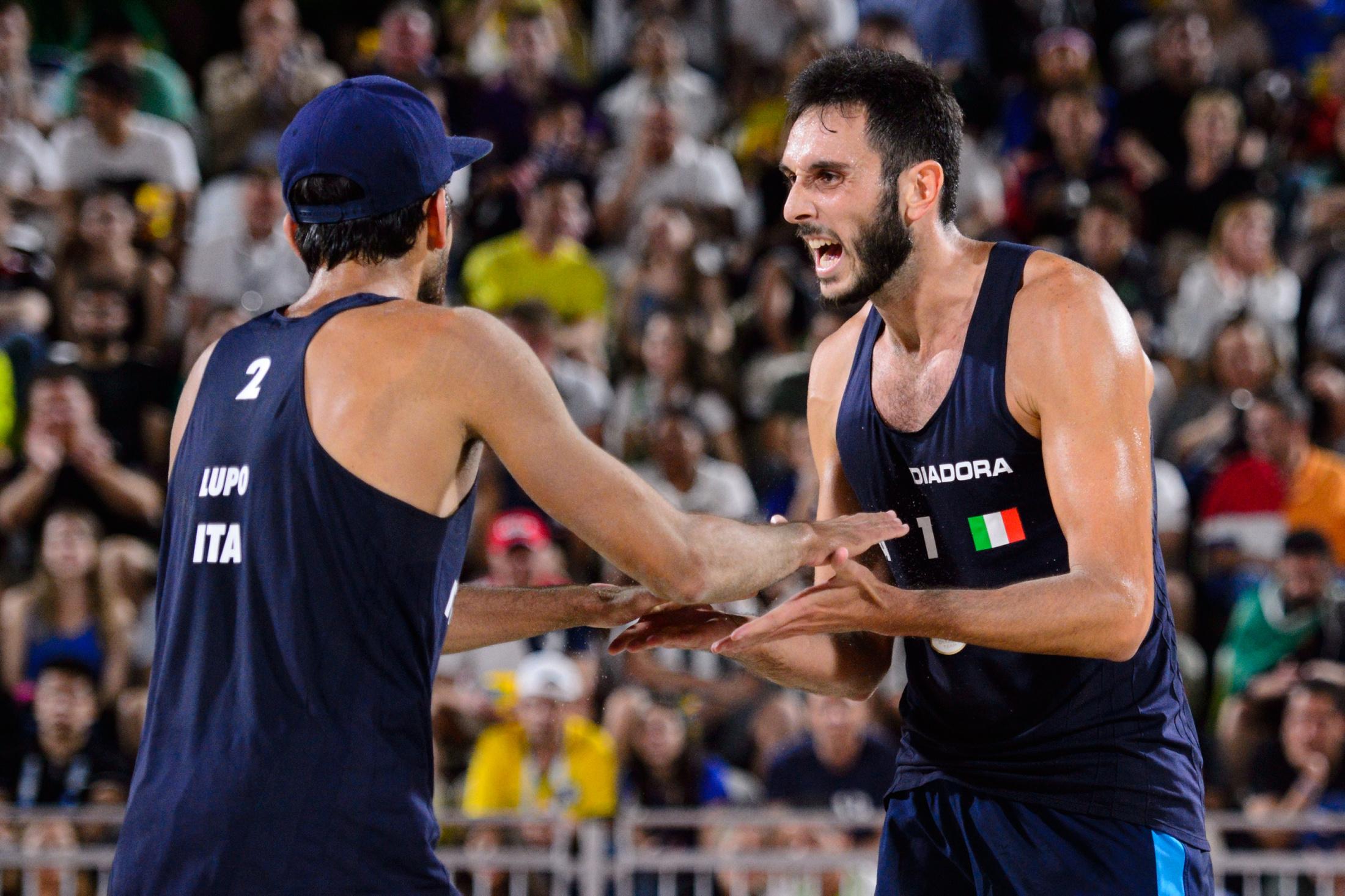 Rio 2016 – Beach Volley, Lupo-Nicolai in semifinale