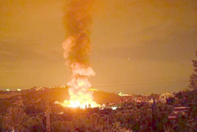 Incendio Colle S.Antonio a Chieti: revocato divieto uso prodotti animali