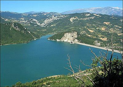 Il lago di Bomba si abbassa di 15 metri