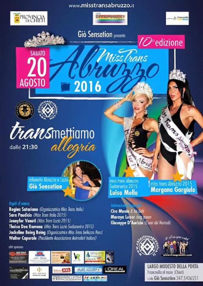 Francavilla: il sindaco elegge Miss Trans
