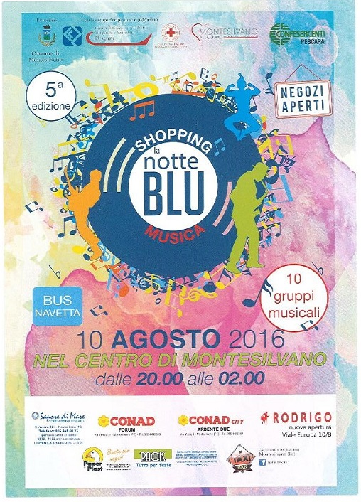 Montesilvano: domani la Notte Blu