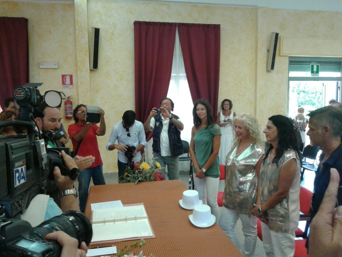 Signora e signora: prima unione civile in Abruzzo
