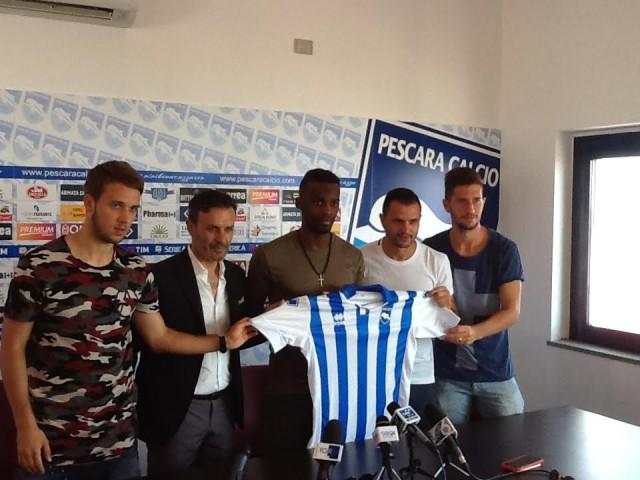 Pescara Calcio – I nuovi si presentano