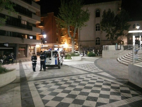 Blitz dei Vigili in Piazza Muzii