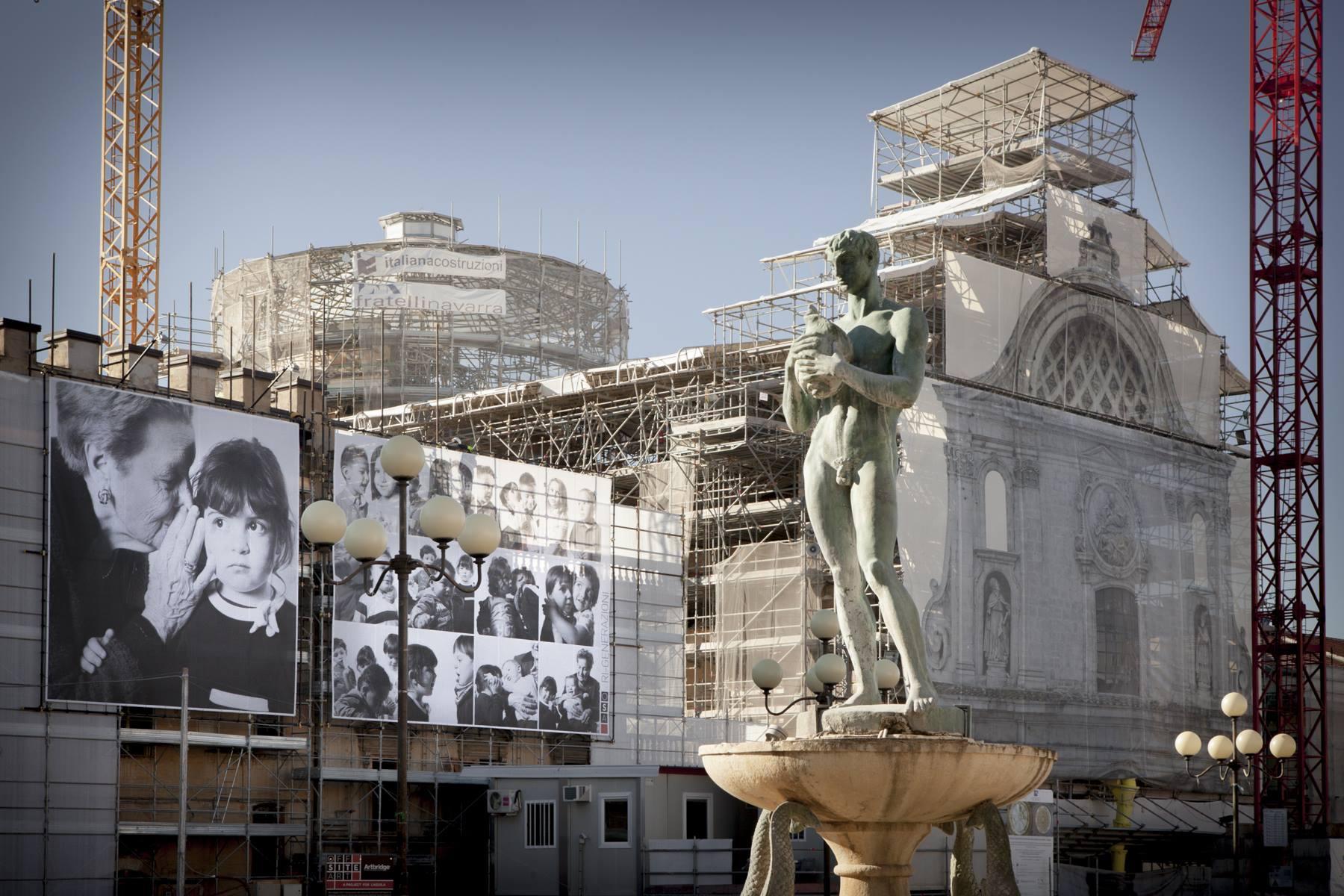 Interrogazione di Melilla sui ponteggi a L'Aquila