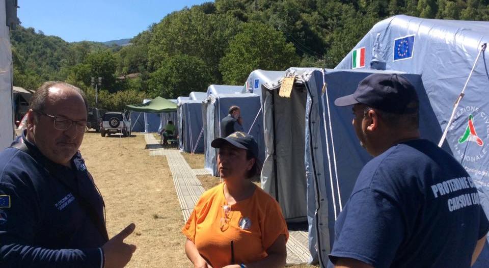 Sisma Centro Italia, il report dei danni in Abruzzo