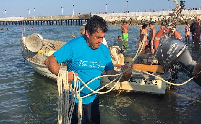 Roseto, 5 ^ edizione della pesca con la sciabica