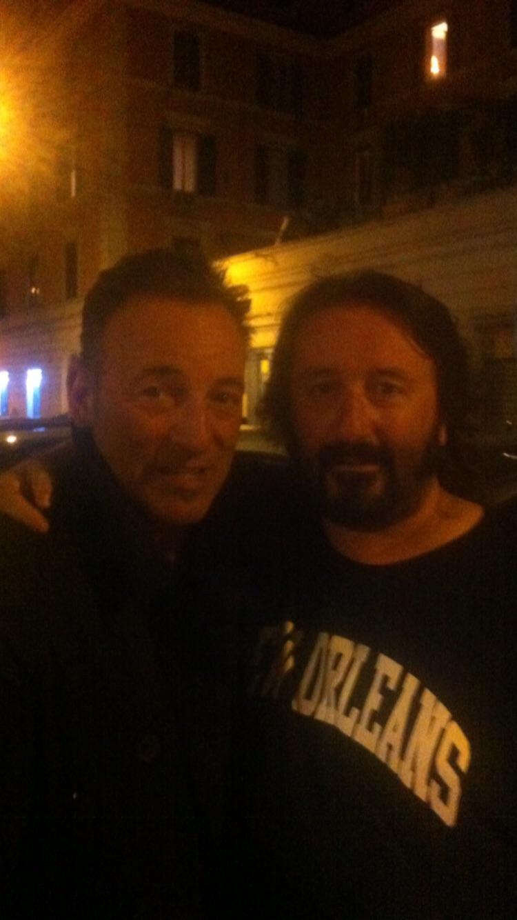 Terremoto: Abruzzese ringrazia Bruce Springsteen