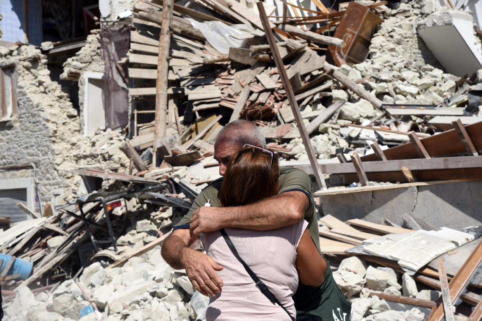 Terremoto, anche psicologi abruzzesi per elaborare il lutto