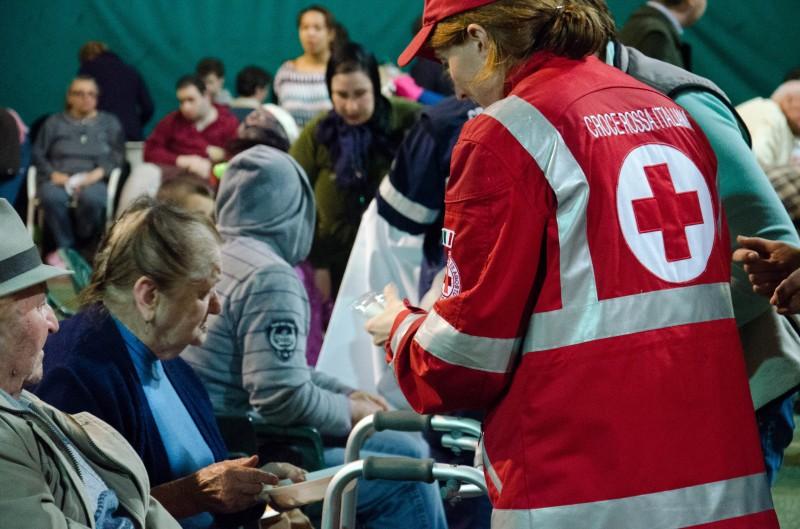 Terremoto: ricoveri e solidarietà