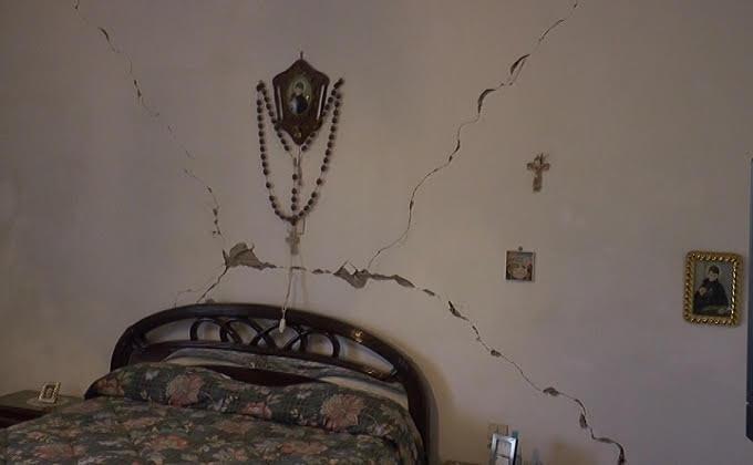 Terremoto, la situazione dei danni in Provincia di Teramo