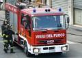 Sant' Omero: incendio sul tetto del ristorante