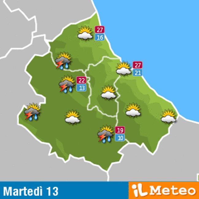Previsioni Meteo Abruzzo 13 settembre